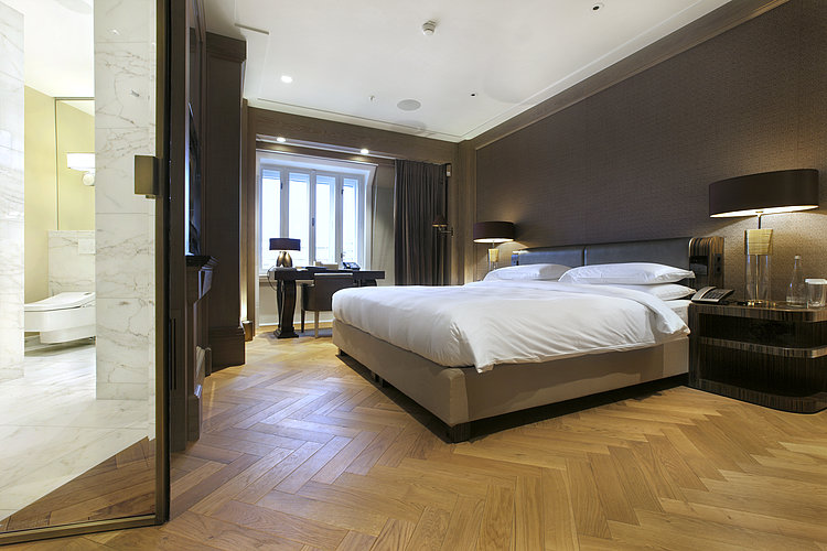 The Royal Penthouse Suite at Park Hyatt in Vienna