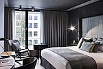 Double bed room at Sofitel Bayernpost in Munich