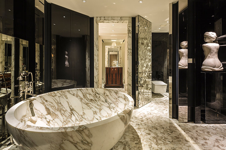 Bathroom furnishings with WASHLET™ at Rosewood Hotel in London