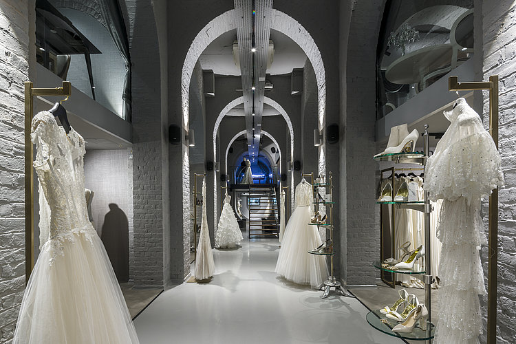 View of The Wedding Gallery in London