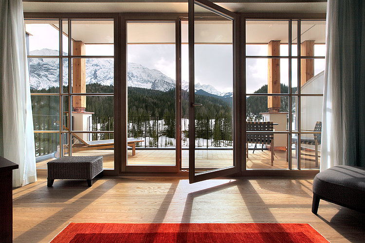 Entrance area at Hotel Schloss Elmau