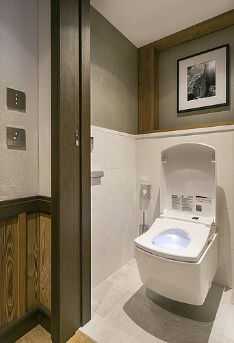 Suite with WASHLET™ at Hotel Les Neiges in Courchevel